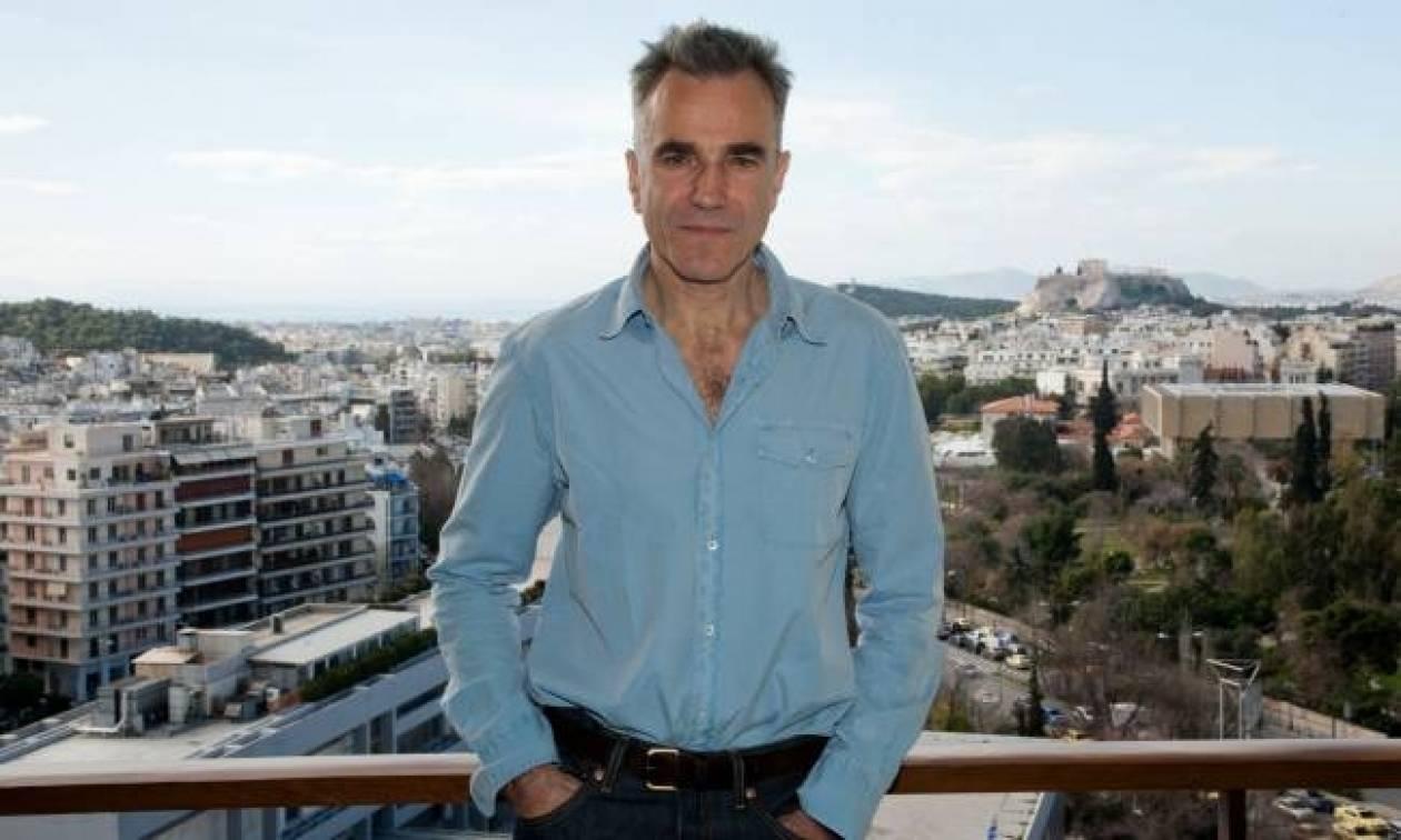 Ο Ντάνιελ Ντέι Λιούις στην Αθήνα για την πρεμιέρα της ταινίας Λίνκολν