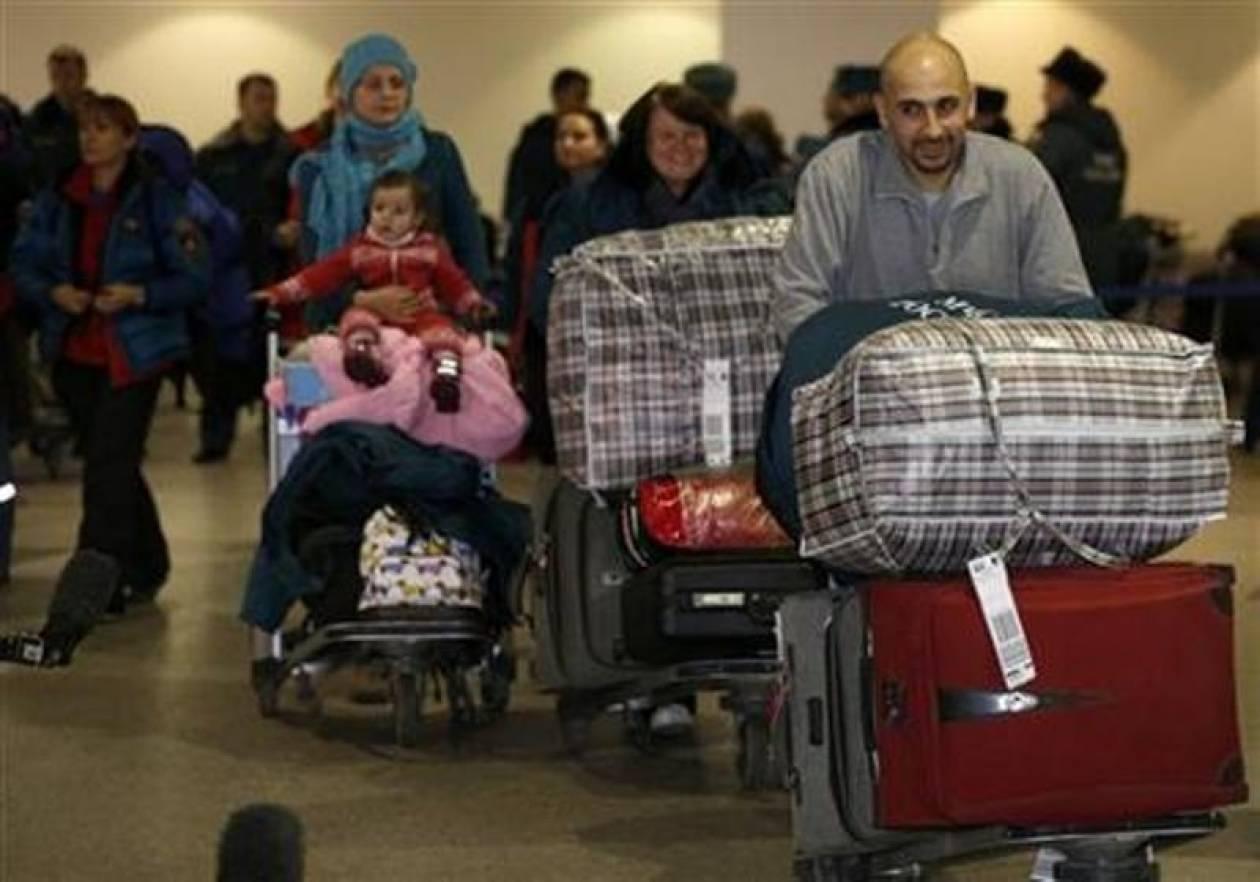 Οι πρώτοι Ρώσοι εγκατέλειψαν τη Συρία