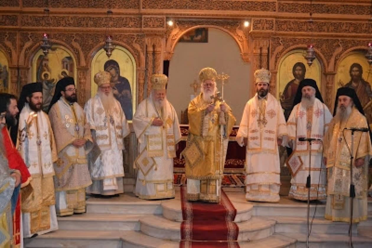 Μνήμη του Αγ. Αναστασίου και ονομαστική εορτή Αρχιεπισκόπου Αλβανίας