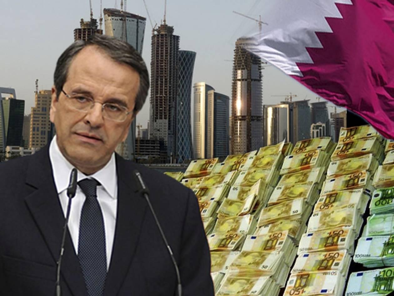 Δυο επιχειρηματίες στο πλευρό του Αντώνη Σαμαρά στο Κατάρ