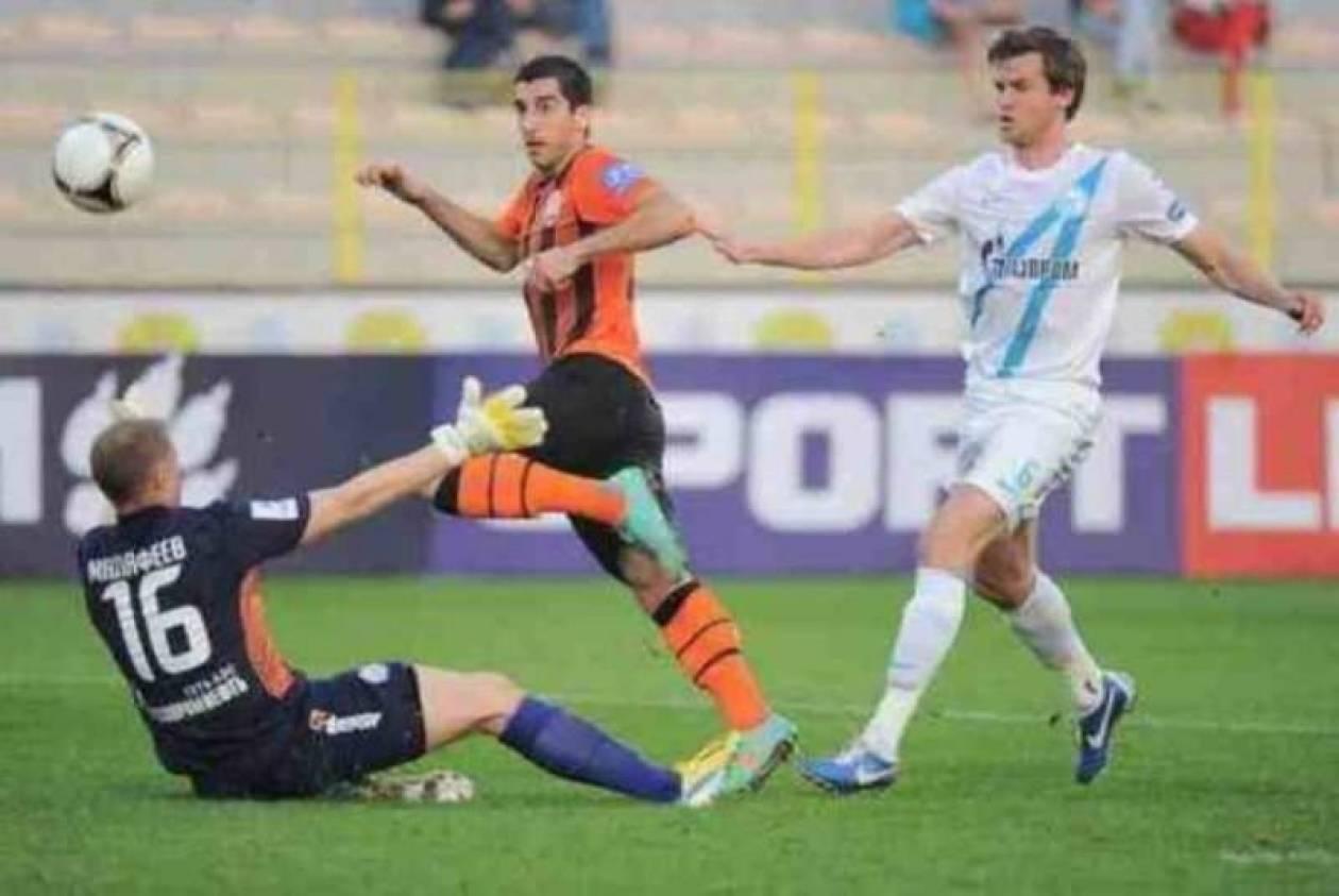 Ζενίτ - Σαχτάρ: Διαιτητής έκανε... φάουλ σε παίκτη! (video)