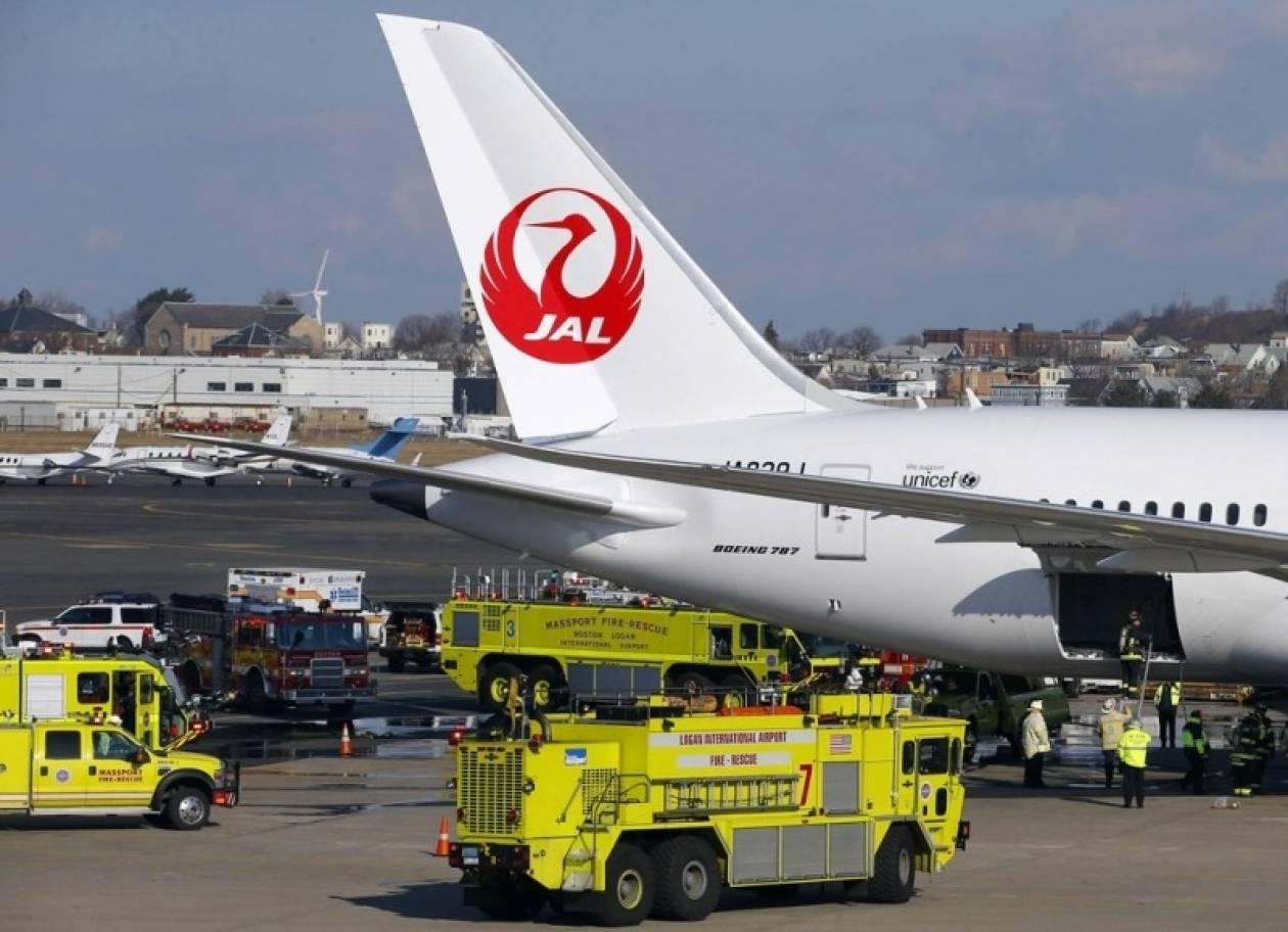 Εντοπίστηκε η αιτία της πυρκαγιάς στο Boeing 787 στη Βοστώνη