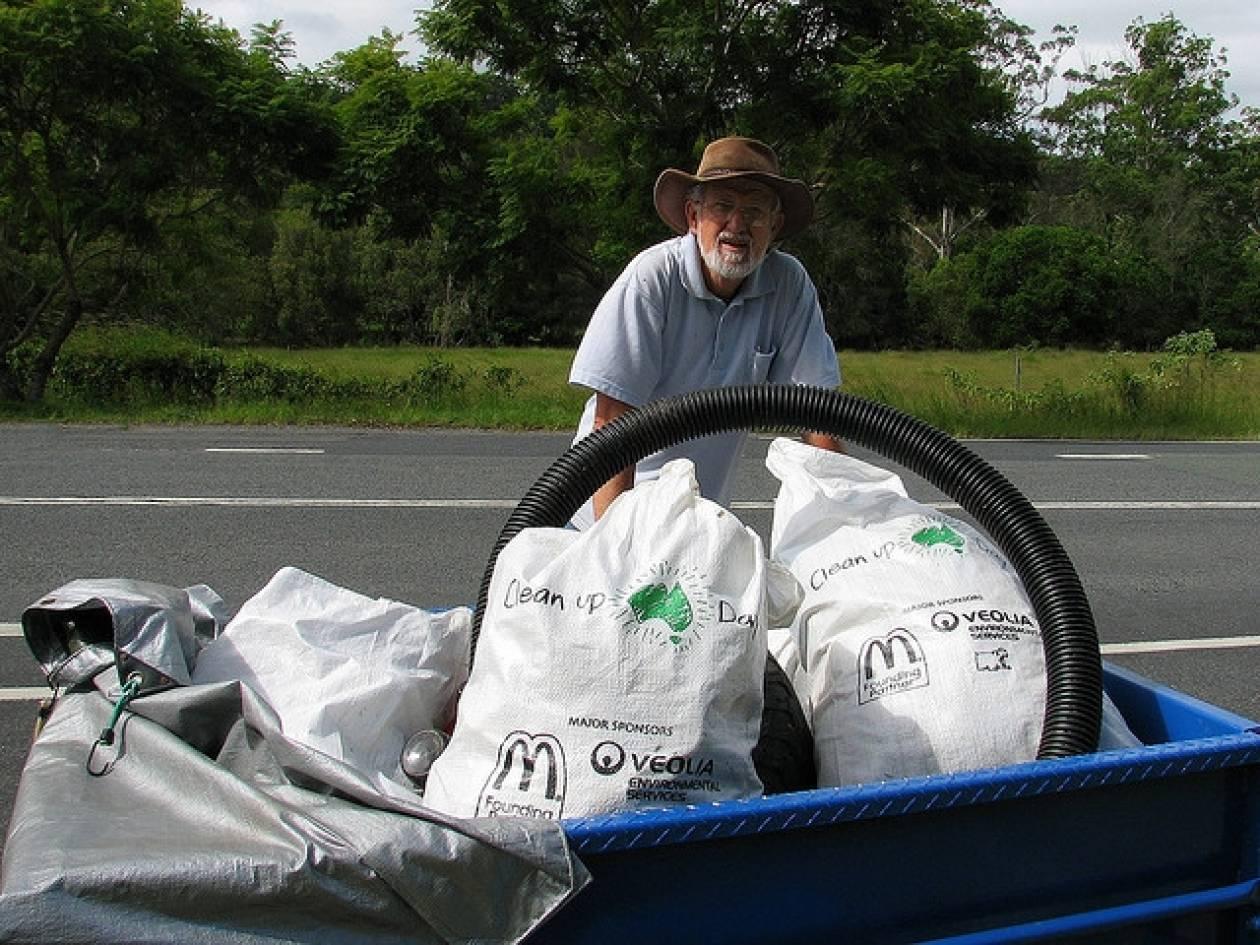 Αυστραλία: Πρόστιμο 504 δολαρίων σε όποιον πετά σκουπίδια στο δρόμο!