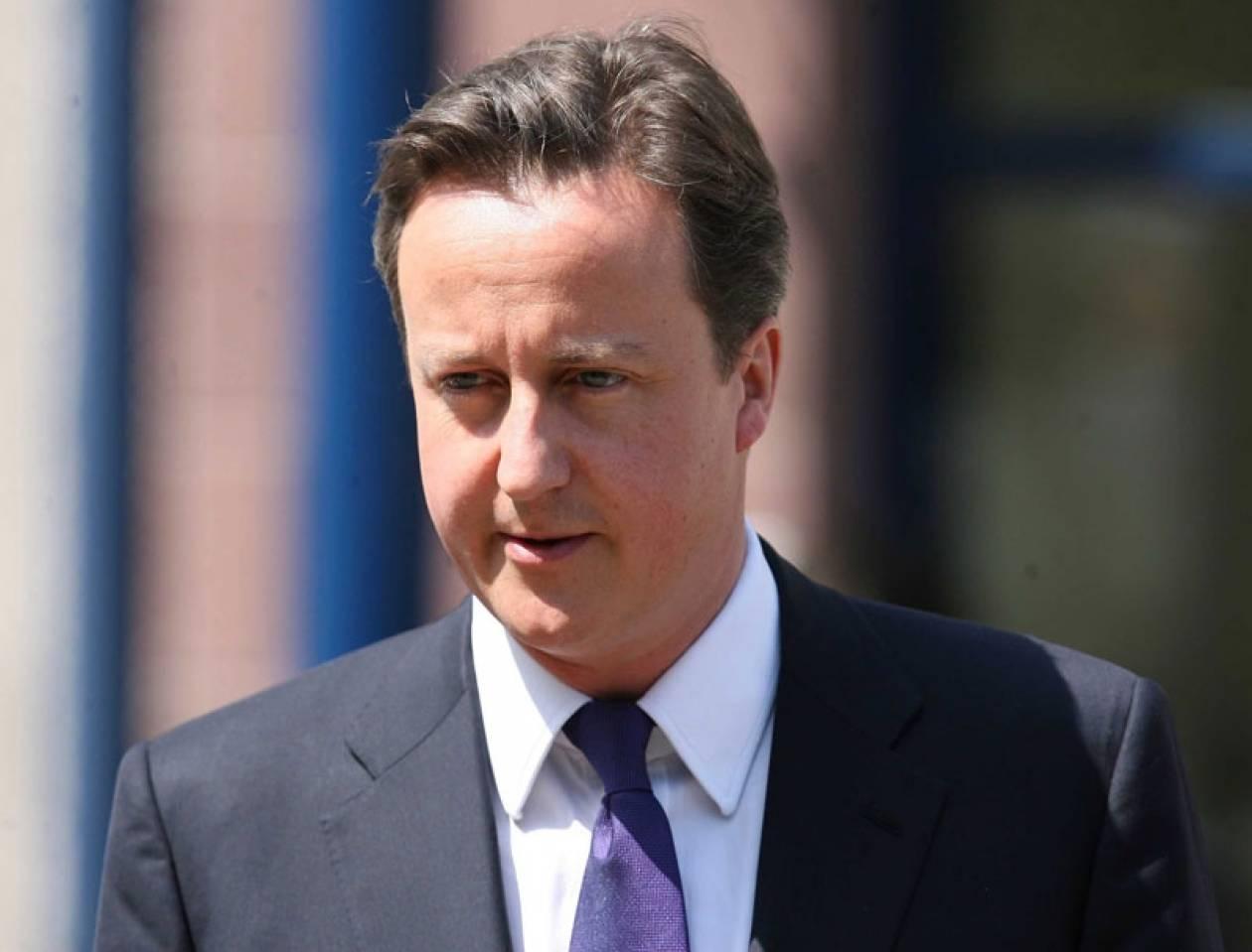 Κάμερον: «Η Βρετανία αποκλείεται να ενταχθεί στο ευρώ»