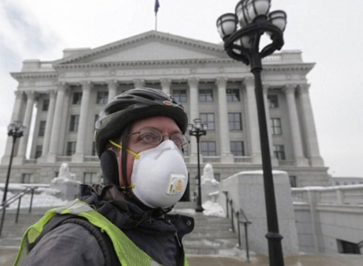 Tοξική ομίχλη «απειλεί» εγκύους και παιδιά(pics)