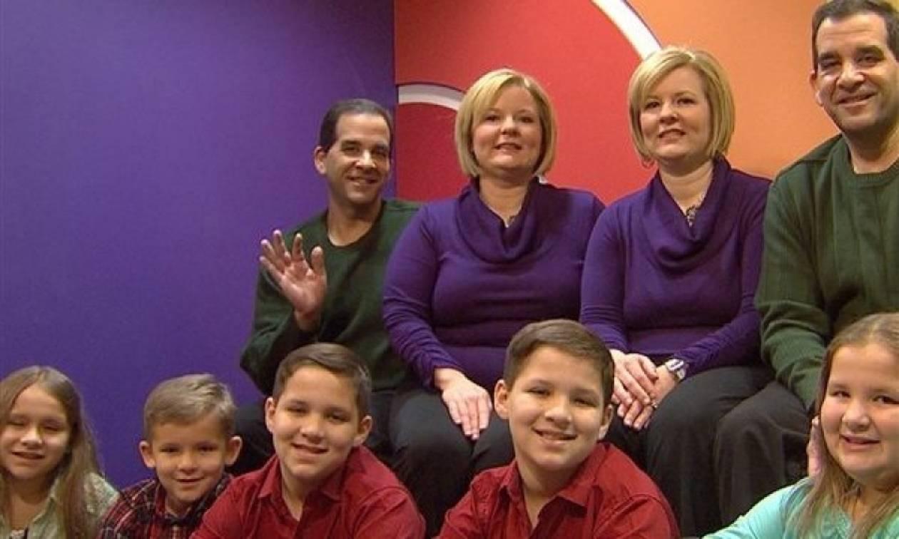 Απίστευτη αληθινή ιστορία: Τα δίδυμα παιδιά των… δίδυμων γονιών τους!