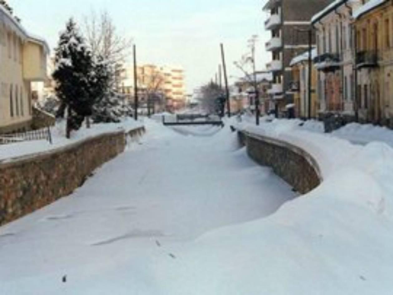 Στα λευκά Μακεδονία και Θεσσαλία - Πού χρειάζονται αλυσίδες
