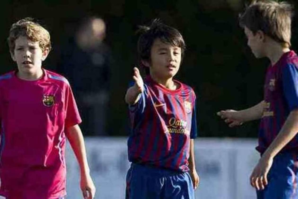 Μπαρτσελόνα: Έξι γκολ σε ένα ματς από τον... Ιάπωνα Μέσι! (video)