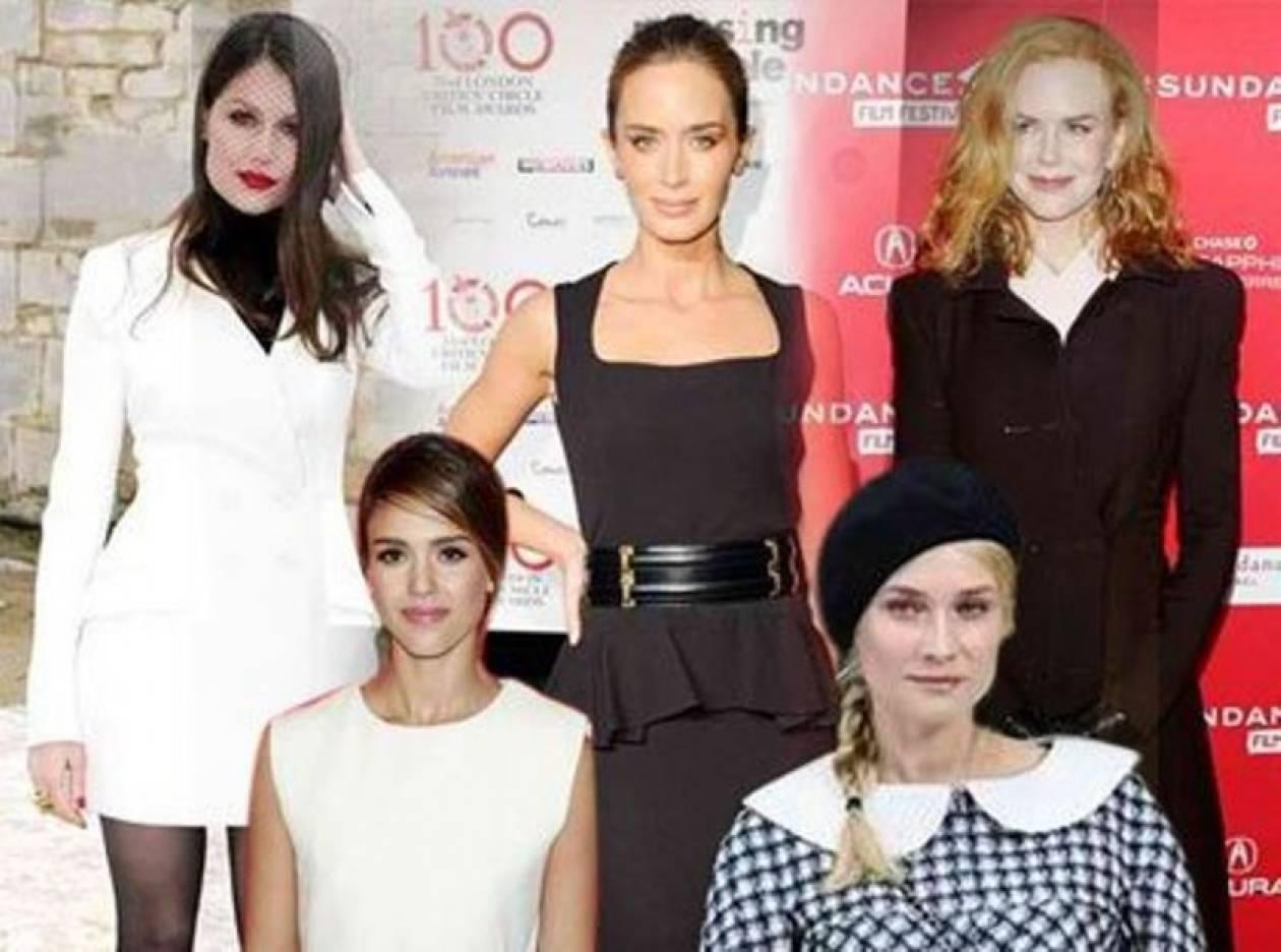 Τα ασπρόμαυρα looks: Ποιες ήταν οι πιο καλοντυμένες celebrities