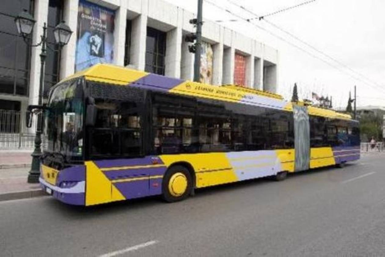 Πρωτοδικείο:Νόμιμη η απεργία των εργαζομένων σε τρόλεϊ και λεωφορεία