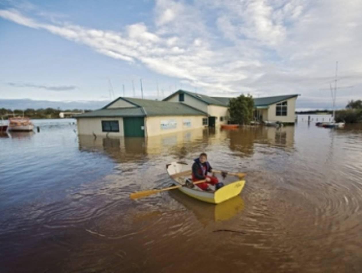 Καταστροφή: Βούλιαξε ολόκληρη πολιτεία από τις πλημμύρες