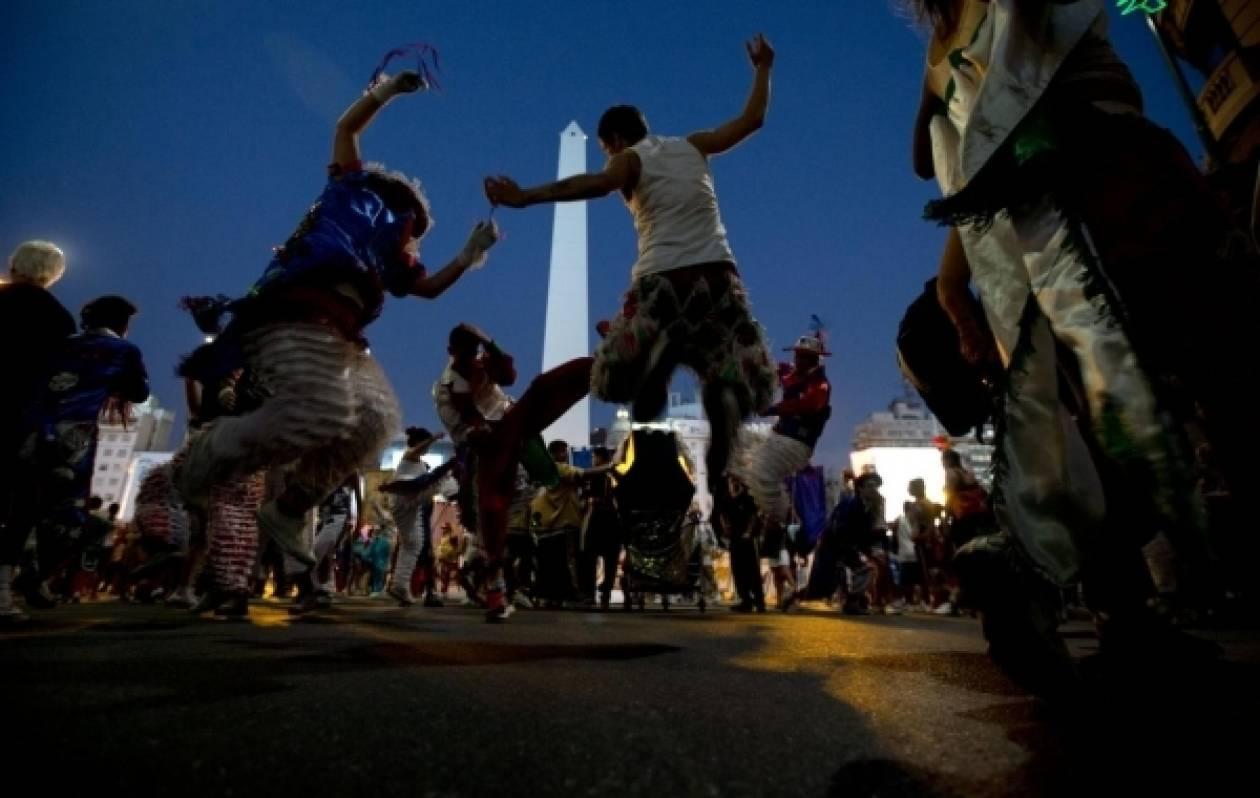 Ξεκίνησε το καρναβάλι της Αργεντινής