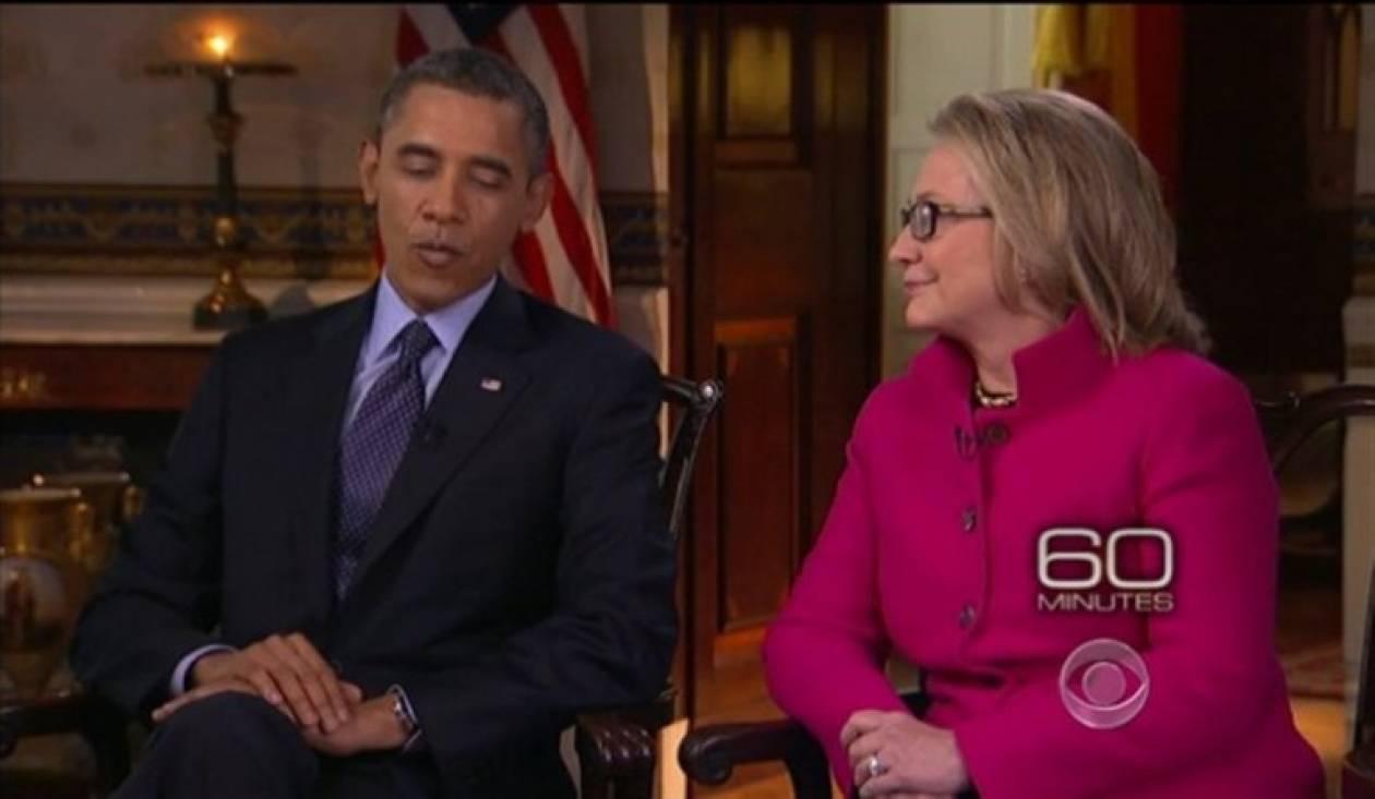 Τα  «γλυκόλογα» του Ομπάμα στη Χίλαρι