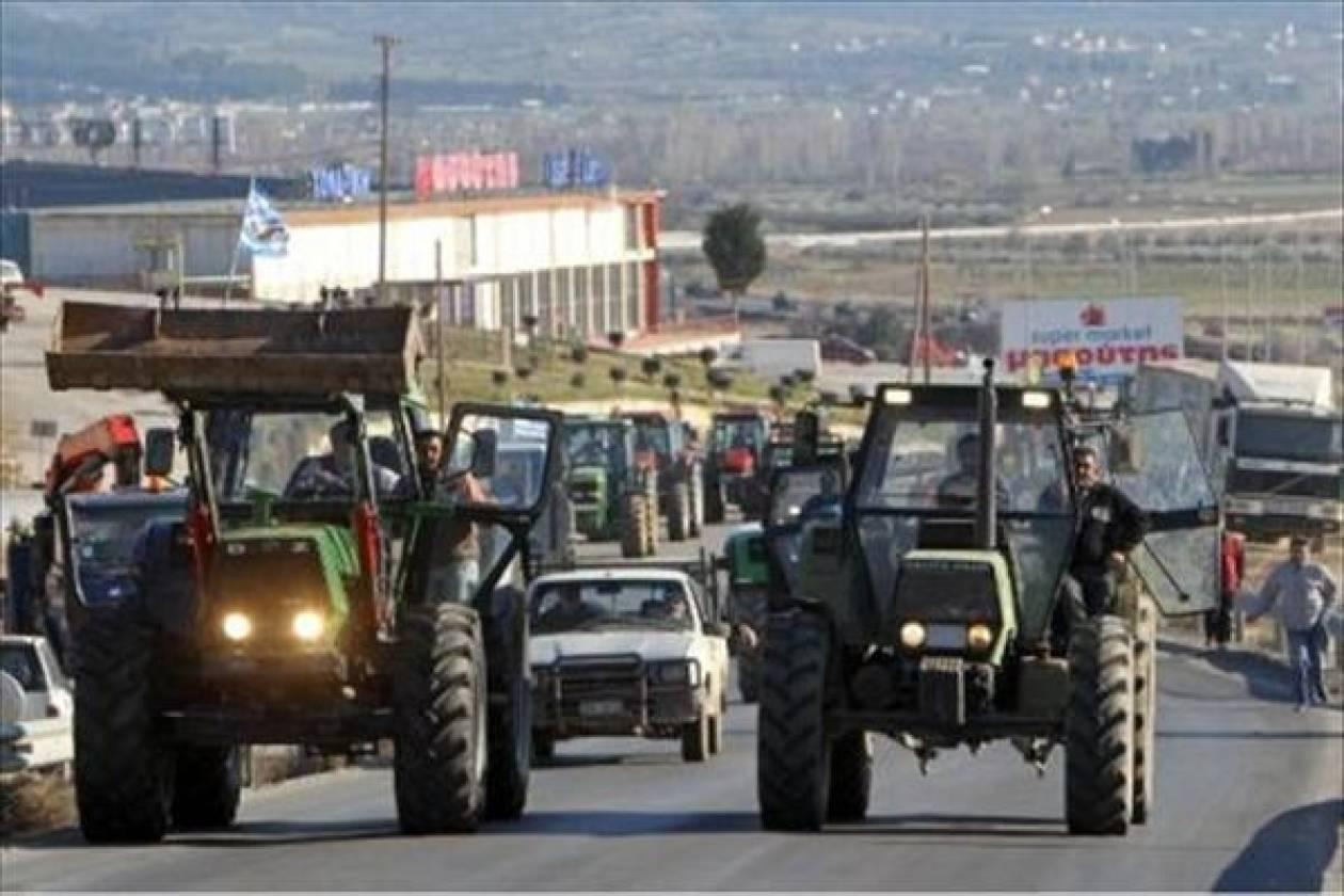 Οι αγρότες «άνοιξαν» την Εγνατία Οδό