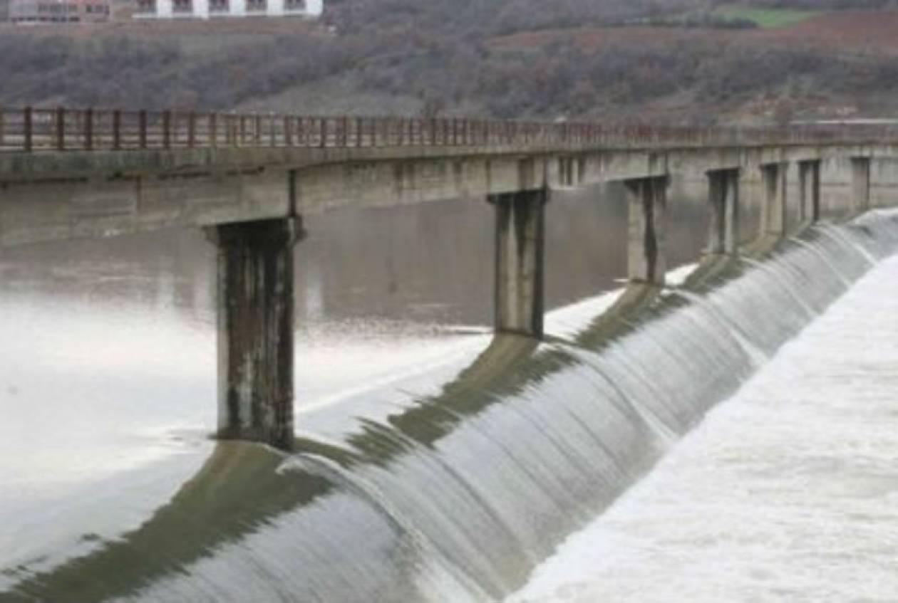 Ένα βήμα από την υπερχείλιση ο Άρδας ποταμός
