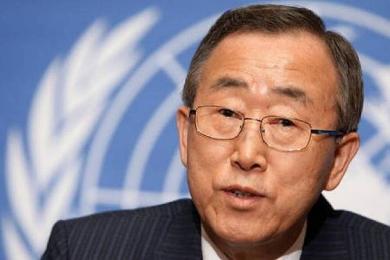 Ειρηνευτική μονάδα στο Κονγκό επιθυμεί ο Μπαν Κι-μουν