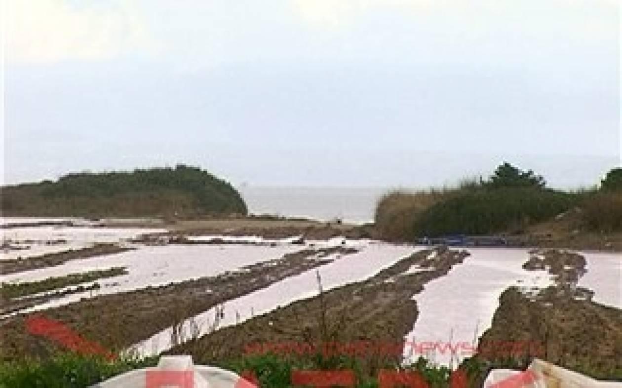 Ανεμοστρόβιλος σάρωσε καλλιέργειες στη Μανολάδα