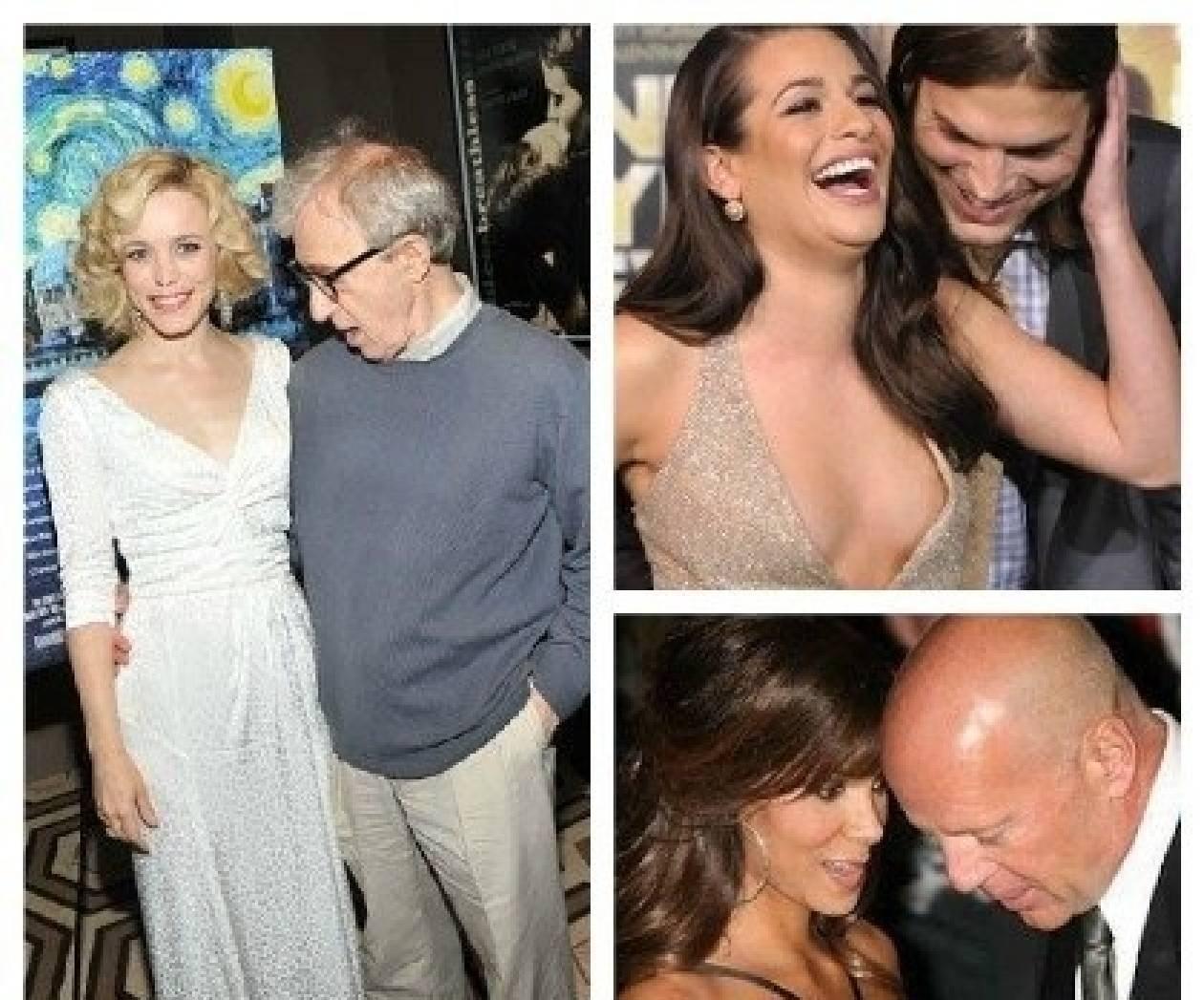Επ' αυτοφώρω: Αυτοί είναι οι «ματάκηδες» του Hollywood! (photos)