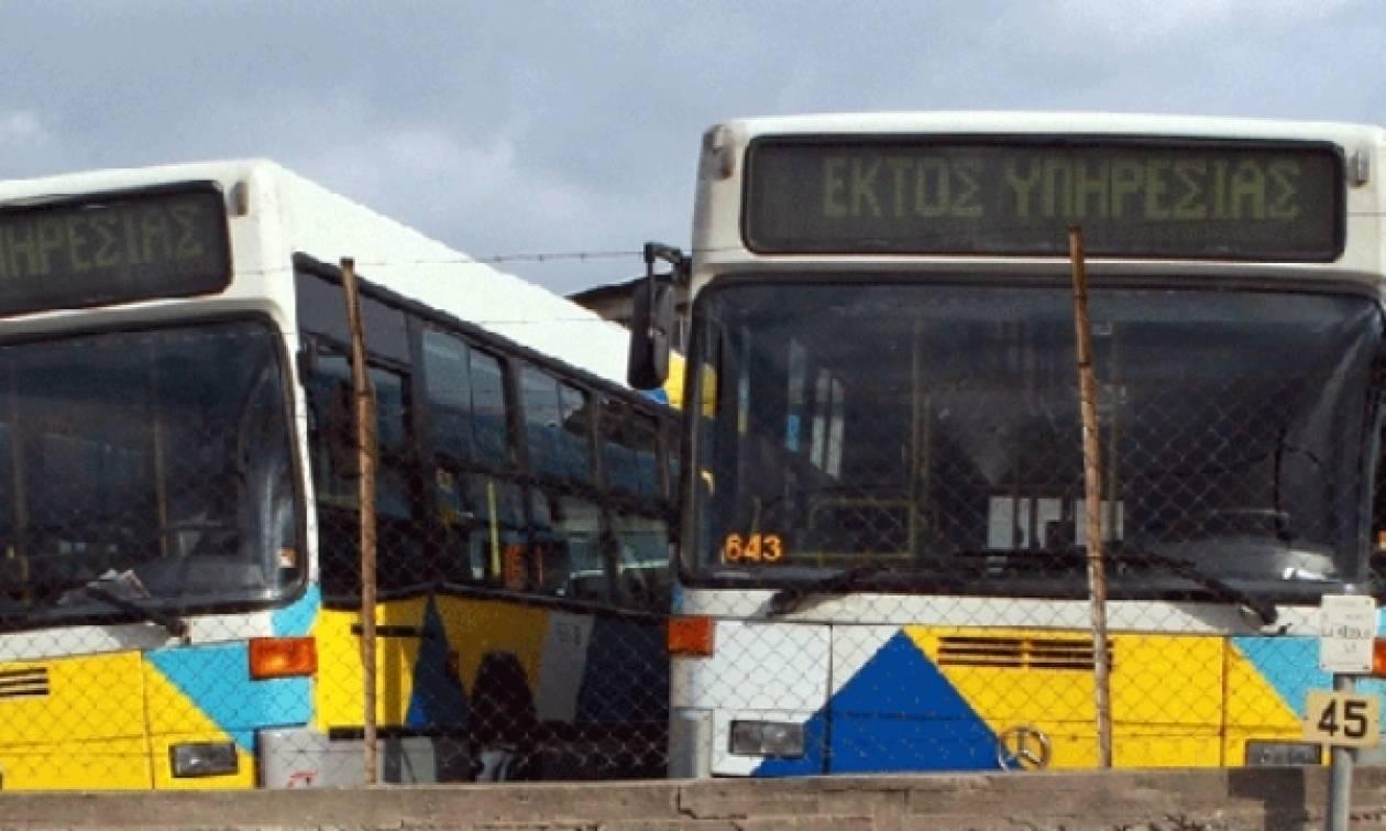 Χωρίς λεωφορεία τη Δευτέρα