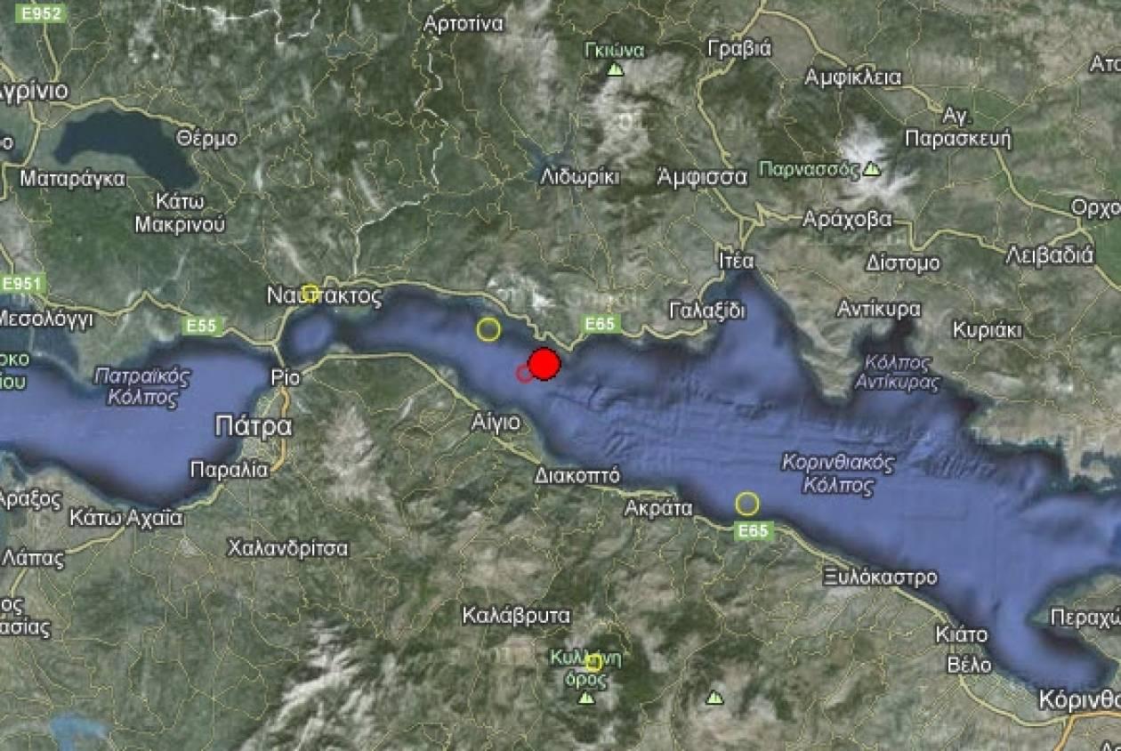 Σεισμός 3,8 Ρίχτερ στο Αίγιο