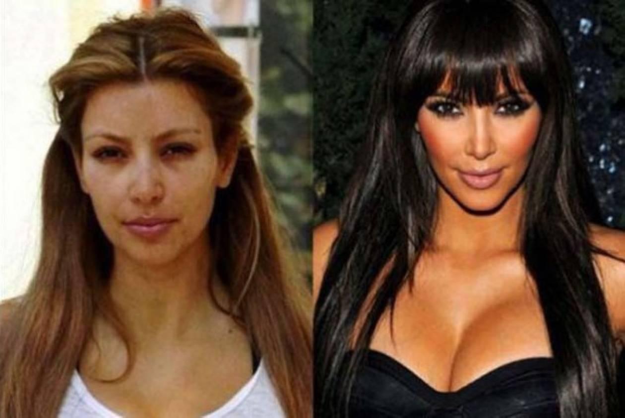 Όταν οι διάσημες κυρίες... ξεχνούν να φορέσουν make-up (pics)