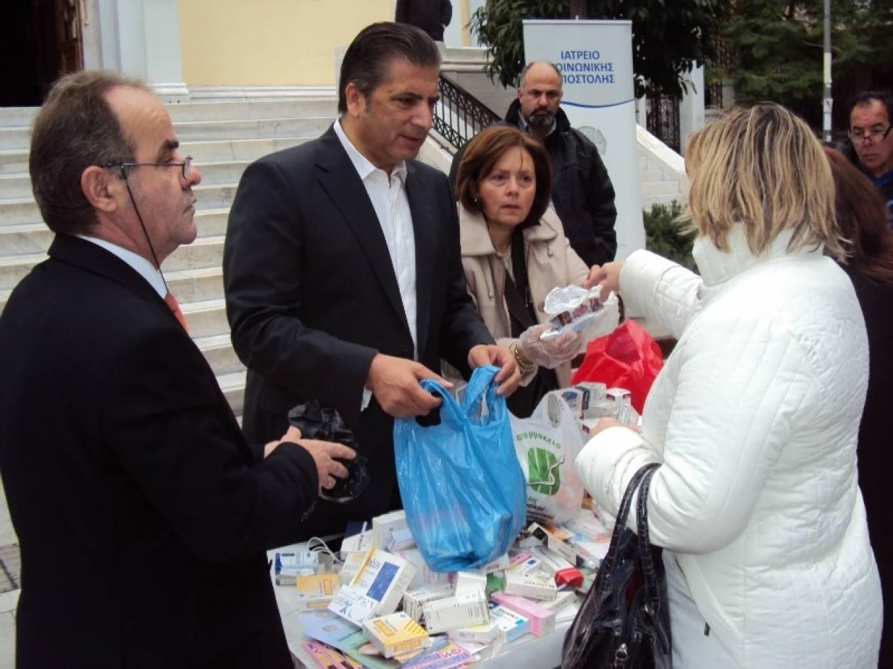 Ιατρείο Κοινωνικής Αποστολής:Μεγάλη συμμετοχή στη συγκέντρωση φαρμάκων