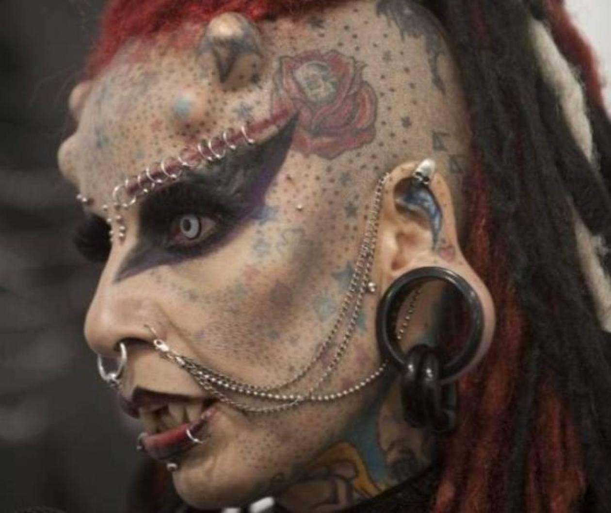 Τατουάζ που σοκάρουν στη Βενεζουέλα (Video)