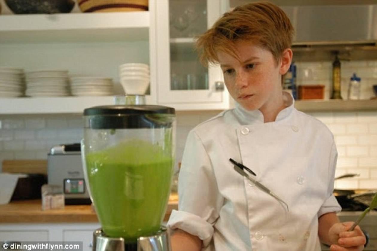 Παιδί-θαύμα έγινε διάσημος σεφ γιατί δεν του άρεσε το φαγητό της μαμάς