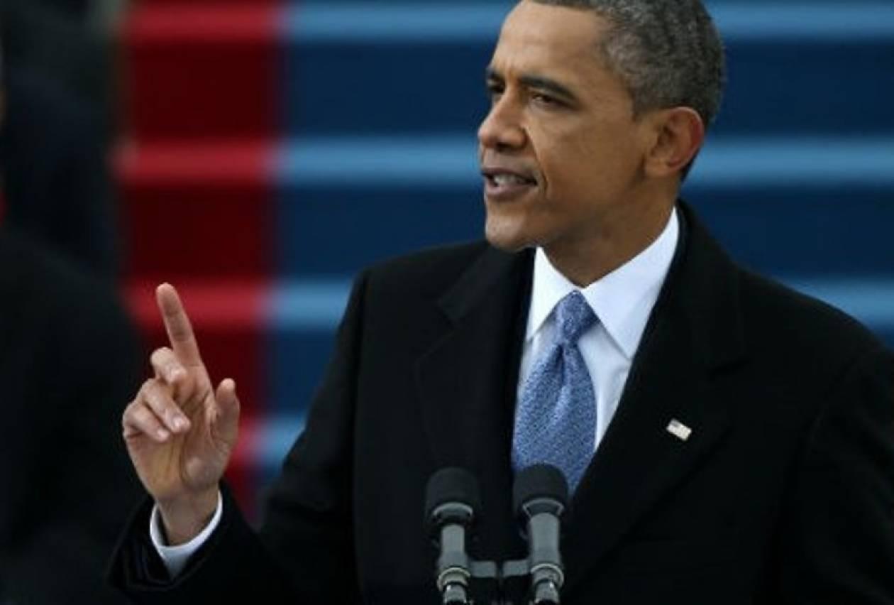 Ο Ομπάμα μιλά για μια στρατιωτική επέμβαση στη Συρία