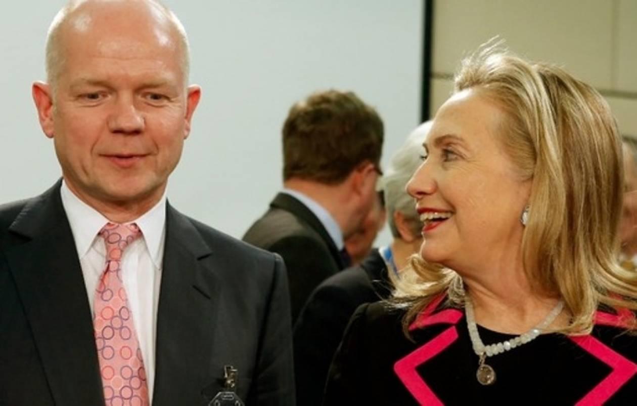 Η Βρετανία τίμησε τη Χίλαρι Κλίντον