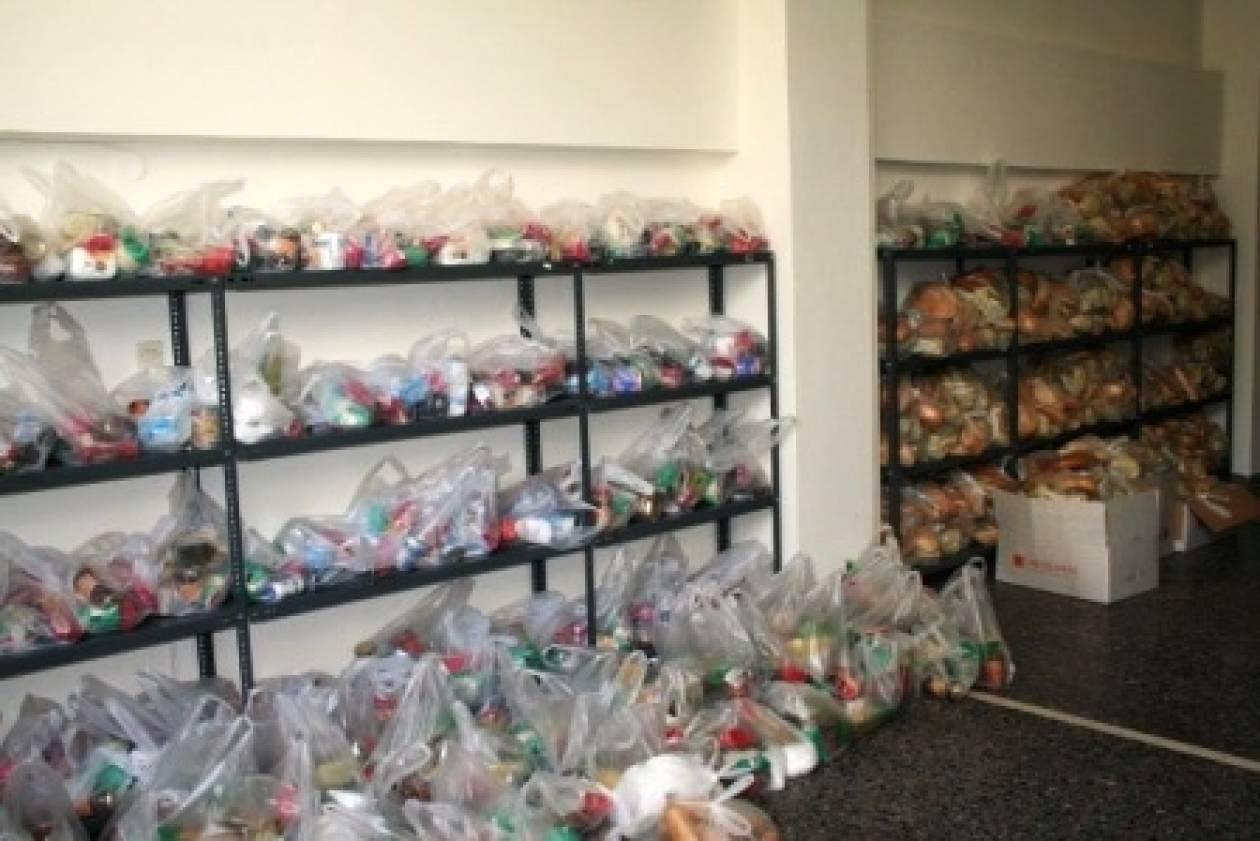 Ηράκλειο: Νέα διανομή τροφίμων από το Κοινωνικό Παντοπωλείο