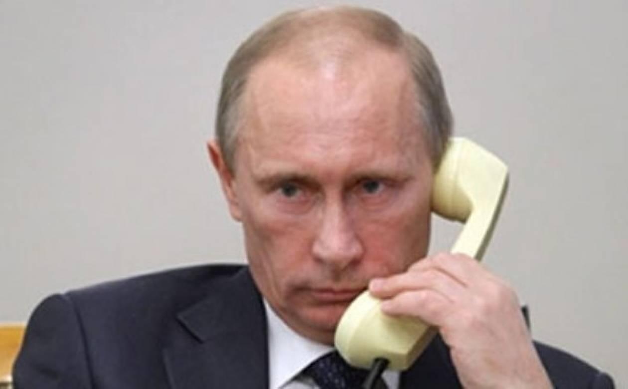 Συνομιλία Πούτιν-Χριστόφια για συνεργασία στο πρόβλημα χρέους