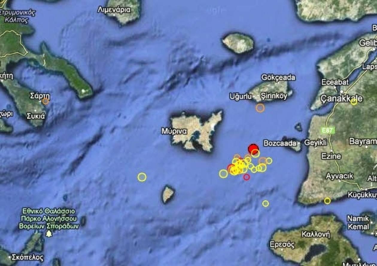Σεισμός 3,7 Ρίχτερ στη Λήμνο