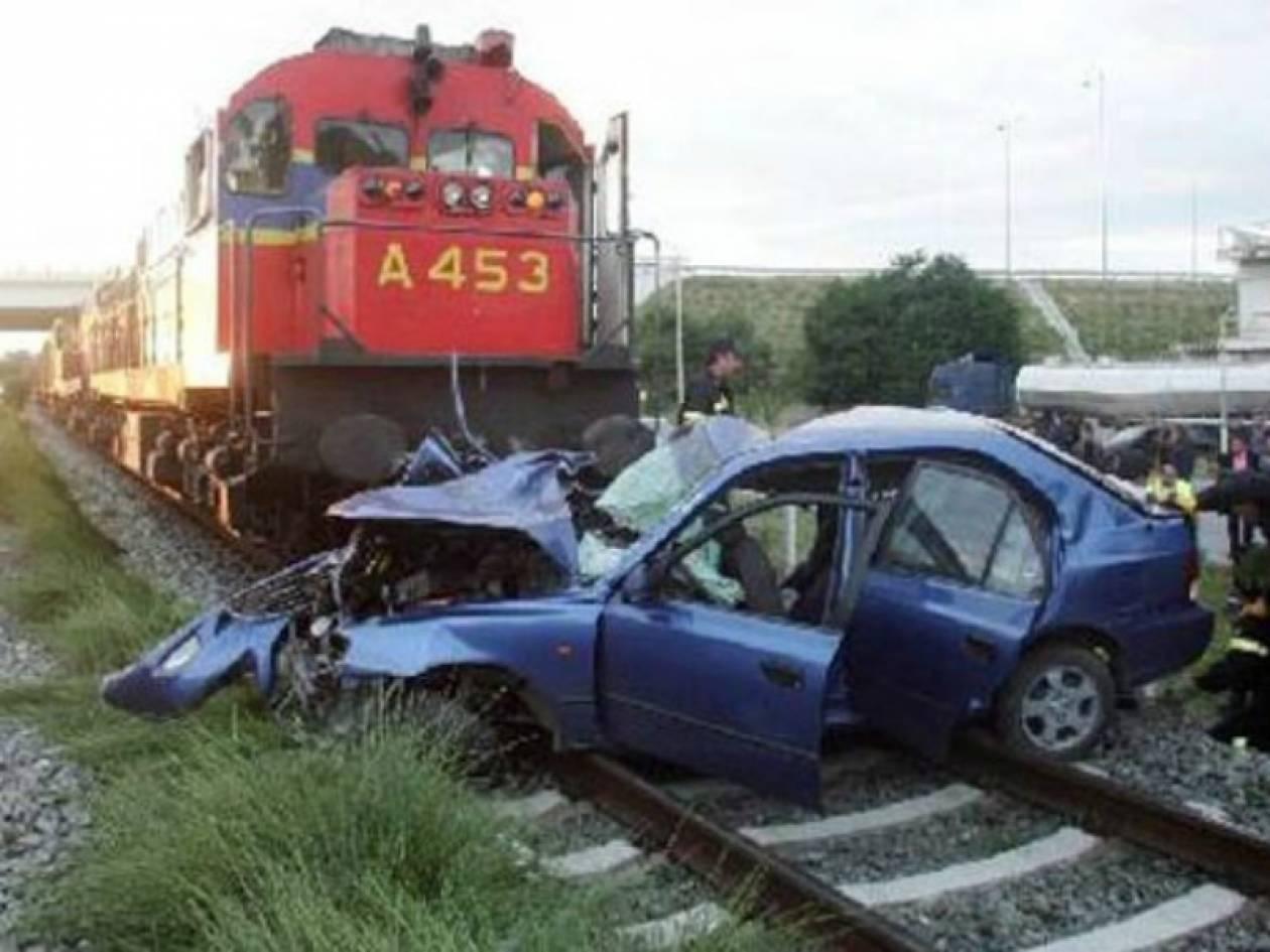 Βέροια: Μία τραυματίας από σύγκρουση τρένου με αυτοκίνητο