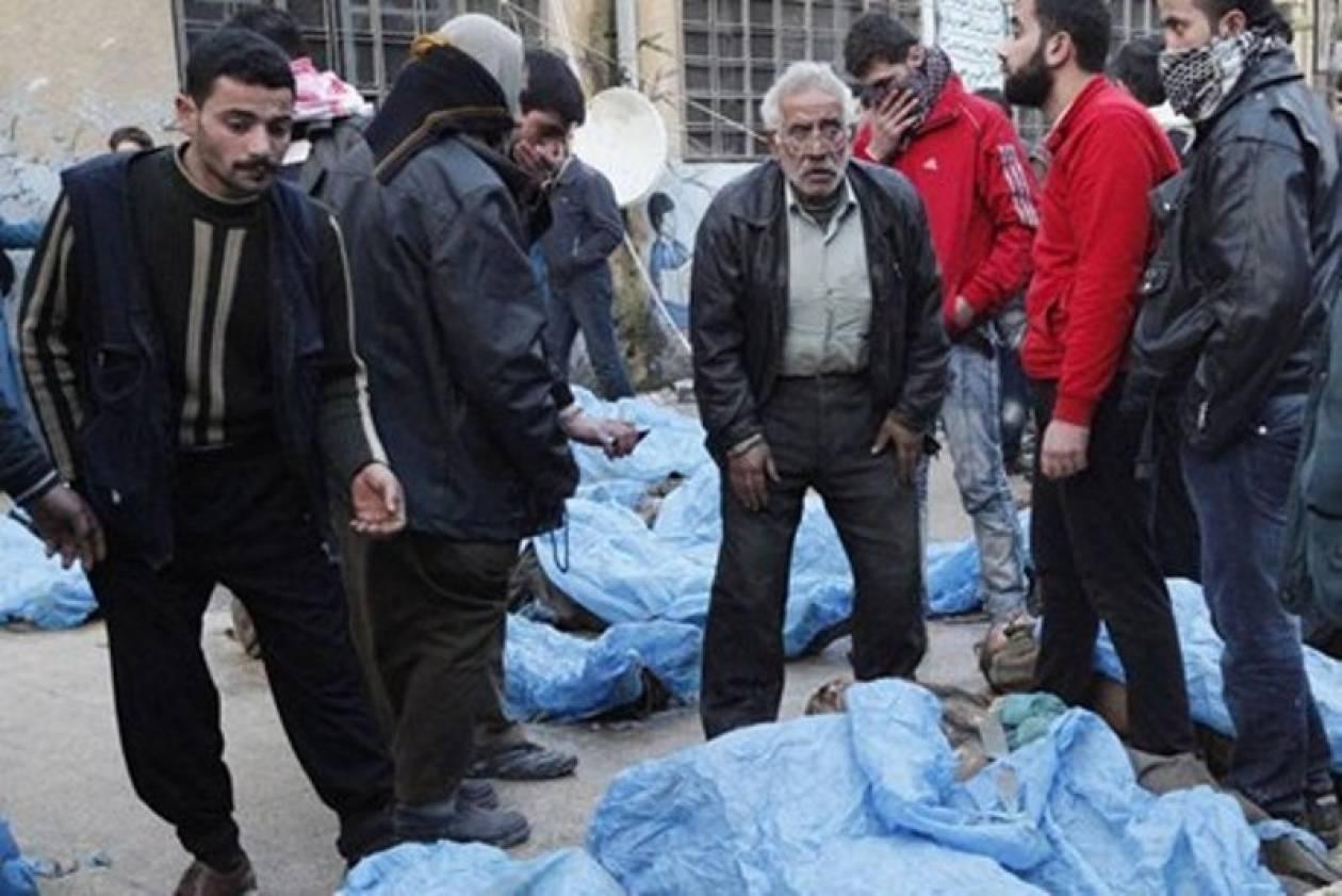 Η κυβέρνηση Άσαντ αρνείται τις εκτελέσεις στο Χαλέπι