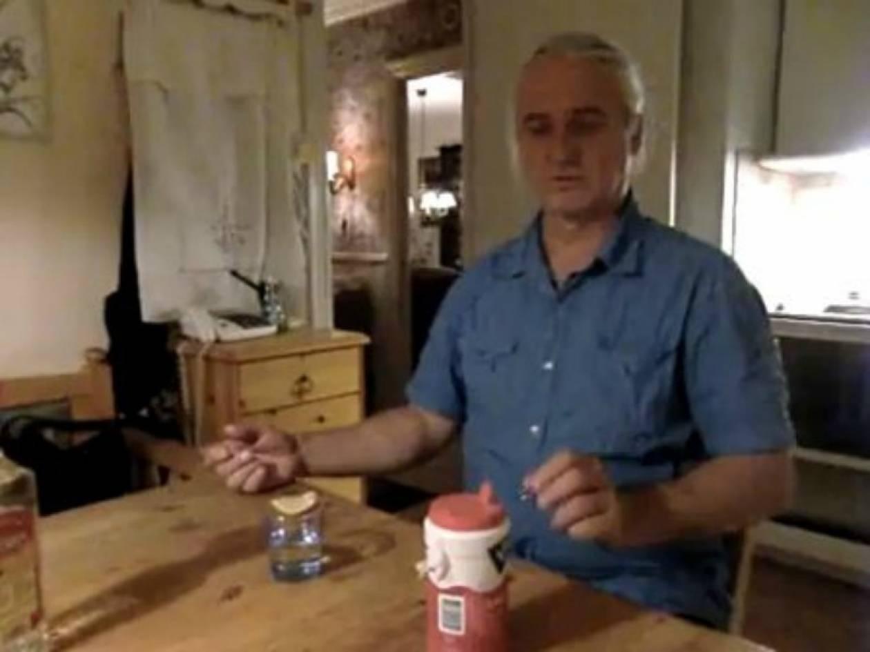 Βίντεο: Ένας από τους πιο επώδυνους τρόπους να πιεις σφηνάκια τεκίλας