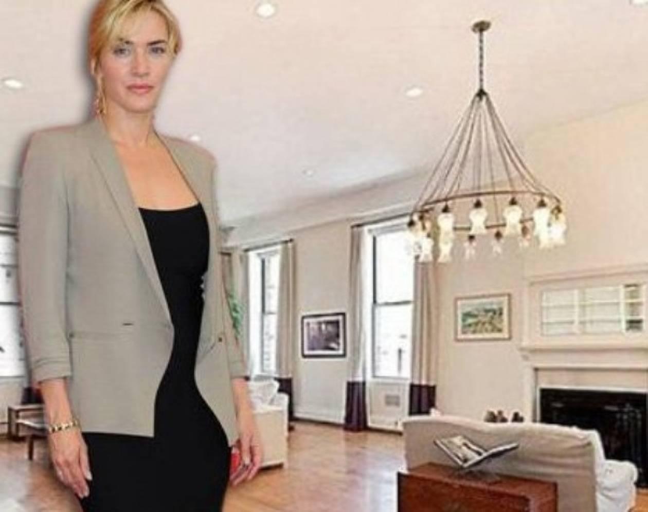 Στο φωτεινό ρετιρέ της Kate Winslet στη Νέα Υόρκη