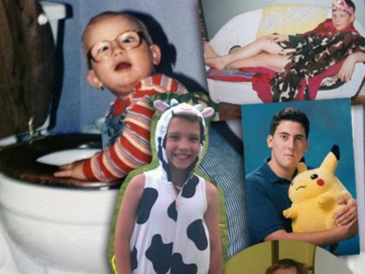 10 φωτογραφίες που δε θα θέλατε να σας είχαν τραβήξει οι γονείς σας