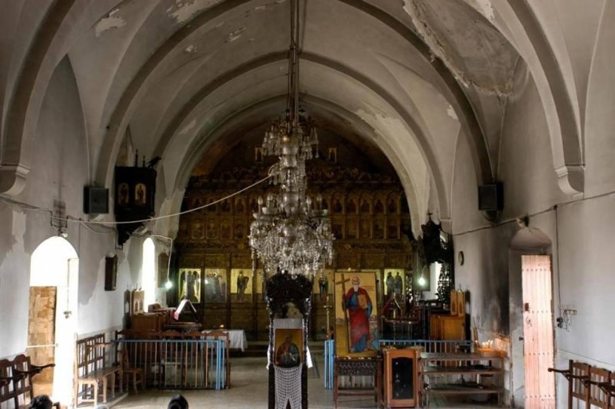 Αναστήλωση της ιστορικής Μονής του Απ. Ανδρέα στην Καρπασία