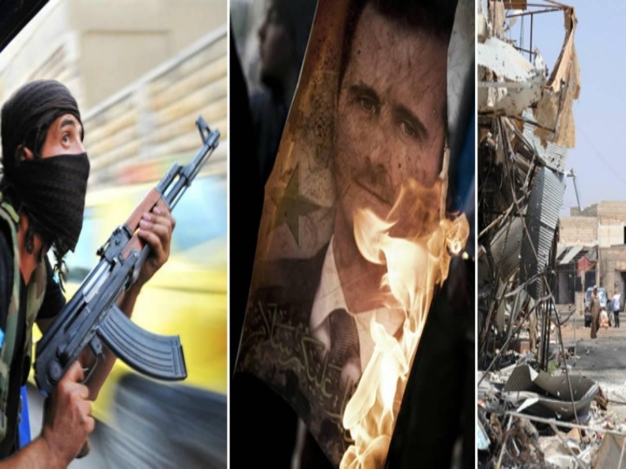 Συρία: Συνεχίζονται οι συγκρούσεις στα προάστια της Δαμασκού