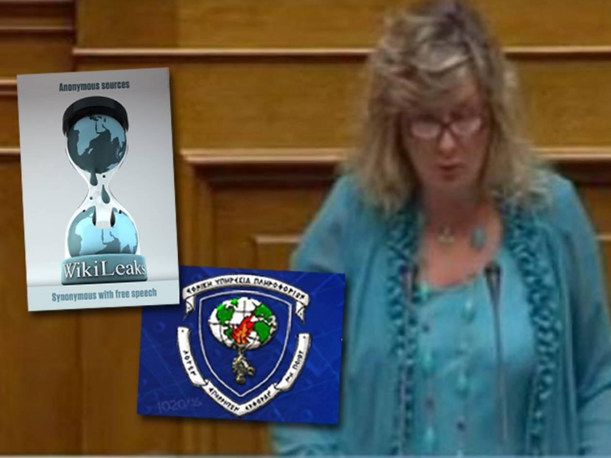 Ξουλίδου: Ισχύει ότι αξιωματικοί της ΕΥΠ διέρρεαν πληροφορίες στη CIA;