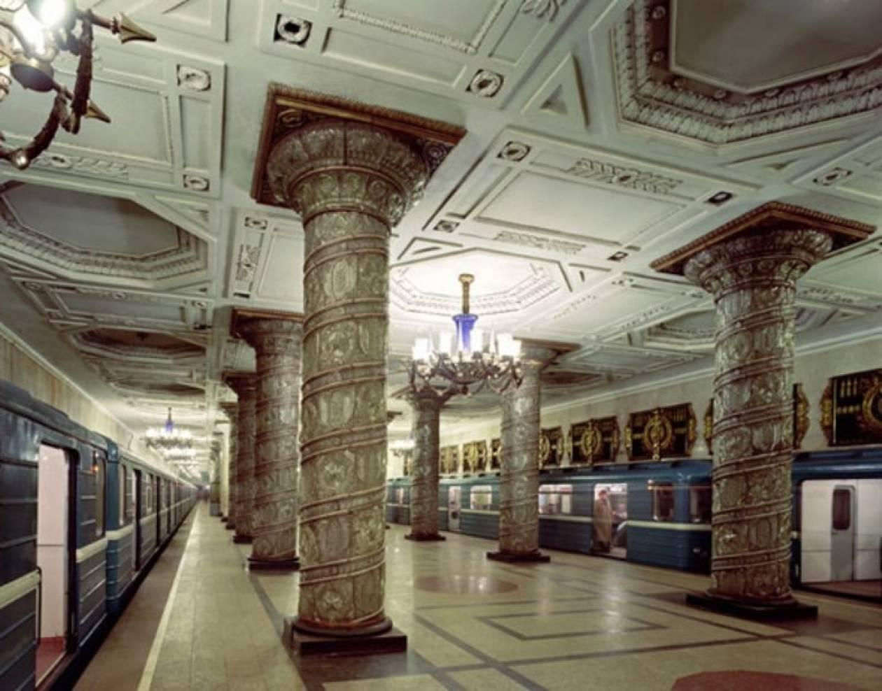 Ένα υπόγειο παλάτι στο βαθύτερο μετρό στον κόσμο!