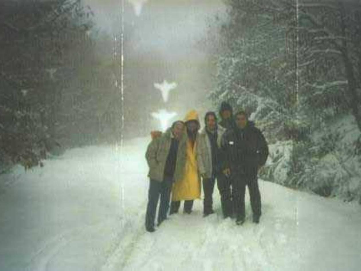 Φωτογραφία-ντοκουμέντο: Εμφανίστηκαν άγγελοι στο Άγιον Όρος!