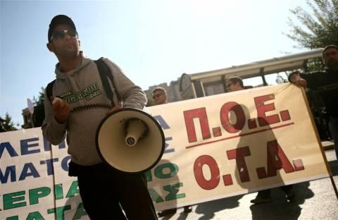 Απεργούν οι συμβασιούχοι των ΟΤΑ