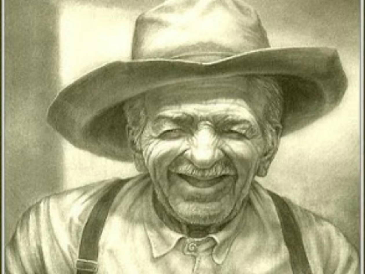 Αποτέλεσμα εικόνας για γέρος αγρότης