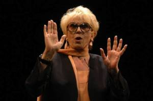 Πέθανε η ηθοποιός Φράνκα Ράμε, σύζυγος του Ντάριο Φο