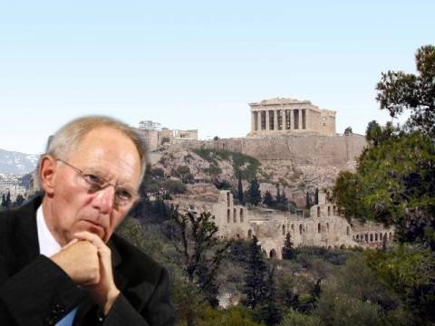 Στην Αθήνα ο Βόλφγκανγκ Σόιμπλε