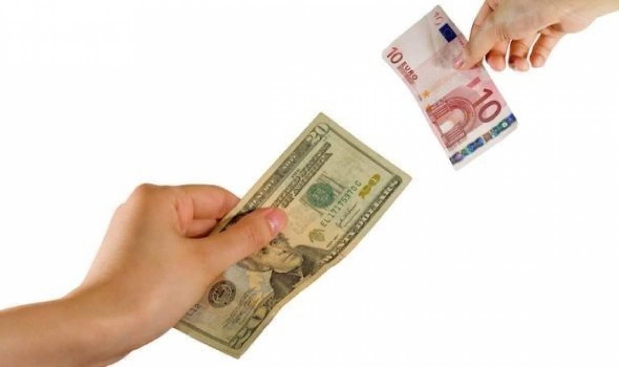 Το ευρώ σημειώνει άνοδο κατά 0,11% στα 1,3215 δολάρια