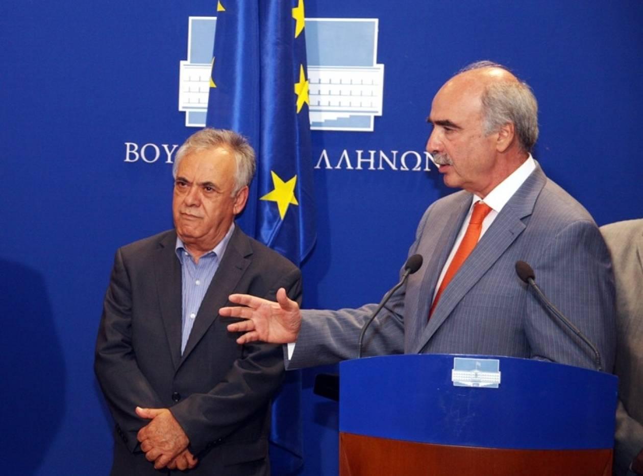 Ο Μεϊμαράκης στήριξε τον Δραγασάκη στη Βουλή