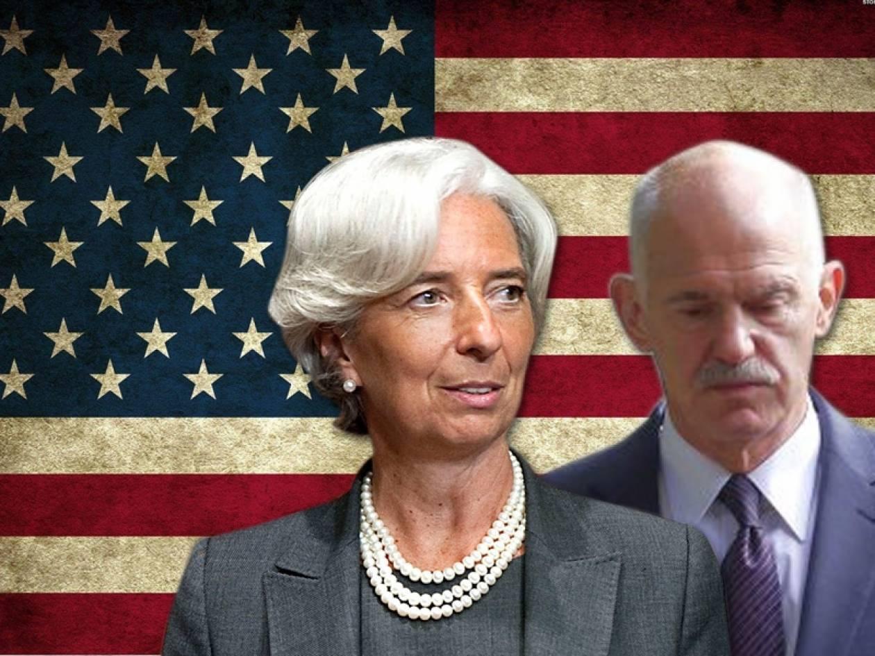 Τι κάνει ο Γιώργος Παπανδρέου με στελέχη του ΔΝΤ στις ΗΠΑ
